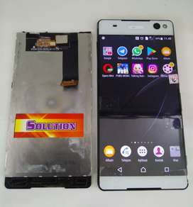 lcd touchscreen Sony E5553 E5506 E5563 C5 ULTRA + Pasang #SOLUTION
