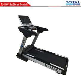 COD alat fitness treadmill elektrik tl-33 AC treadmil 4 hp