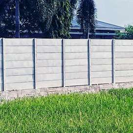 Jual pagar beton panel / precast ( harga murah langsung pabrik)
