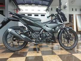 Dijual Suzuki Satria F150 Black Predator th 2018
