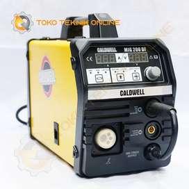 Mesin Las Inverter MIG 200DF CALDWELL
