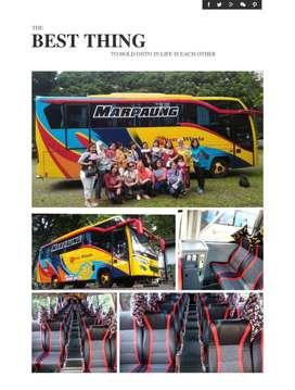 Di jual Bus Mitsubshi Canter 136