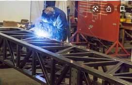 Required skilled welders and fabricators