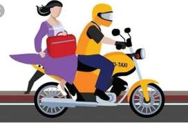 Bike taxi job join & earn 65000 to 70000 per month