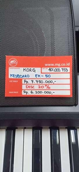 Kredit keyboard korg ek 50 proses 3 menit free 1x cicilan
