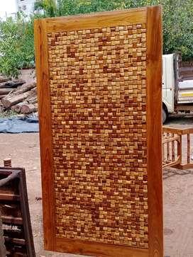 New brand Teak wood door's