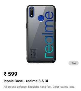 Realme branded 3/3i back cover.