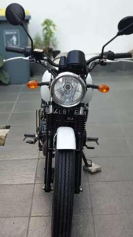 Kawasaki W175 Putih Tahun 2018 (Pajak Panjang!) Superb Istimewa Murah!