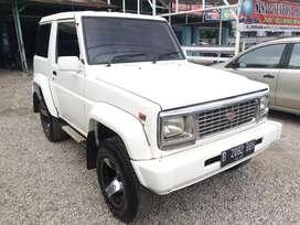 Taft GT 4x4 th 1990 sangat awet orisinil