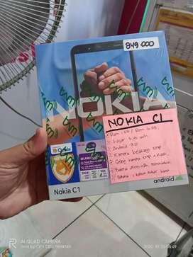 New Nokia C1 1/16 garansi resmi