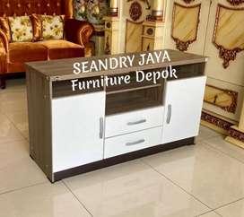 SEANDRY JAYA Furniture Depok/rak tv minimalis/meja/bufet/lemari murah