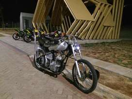 choppers basic pulsar 220