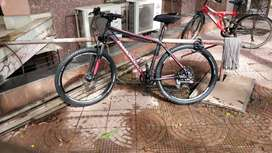 Almost Brand New DIAMONDBACK RESPONSE 27.5 HARDTAIL MTB- GREY RED