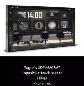 HU double din rogers+kamera+pasang