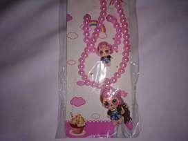 Sale kalung anak LOL set gelang mutiara bagus lucu murah