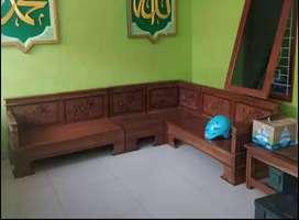 Dijual kursi kayu jati asli