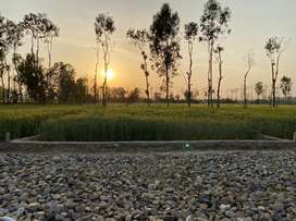 Plot for sale in east hope town near jalvayu towers and pragati school