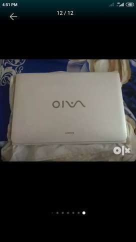 Sony Vaio i7 new laptop not a single day used