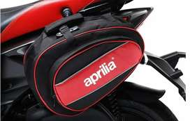 Aprilia waterproof saddle bag new , can fit in any scooty/ bike