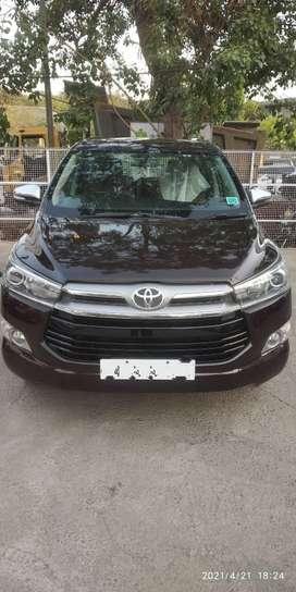 Toyota Innova Crysta 2.8 ZX AT, 2016, Diesel