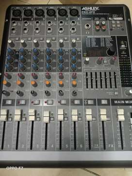 Dijual mixer asley 6FX