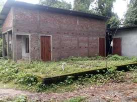 Plot with a readymade house