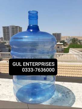 19L blue and white bottle available