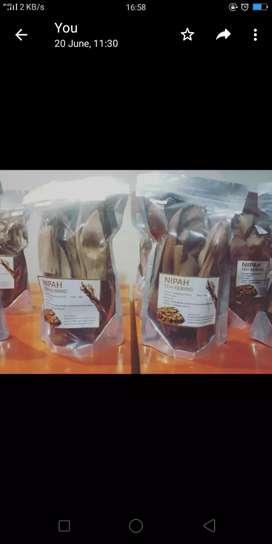 Daun Nipah Kering akar Tumbuhan dari Papua