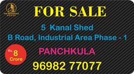 5 Kanal Shed Available For Sale