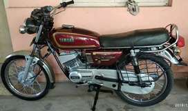 Less used recently restored Yamaha RX135!!