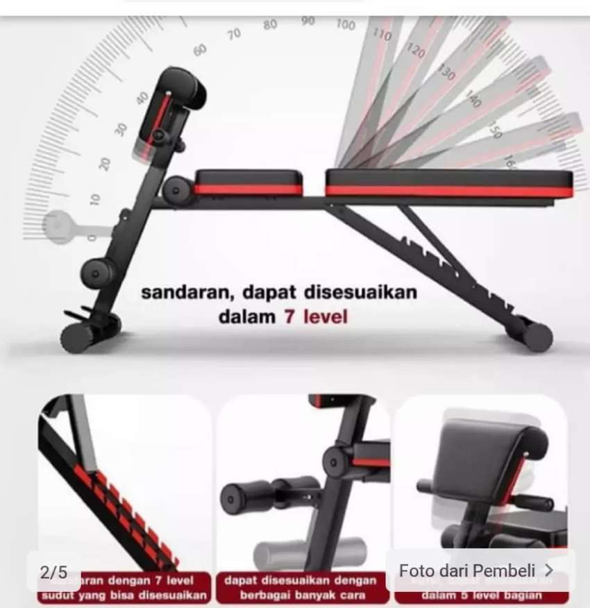 Adjustable bench 2in1 0