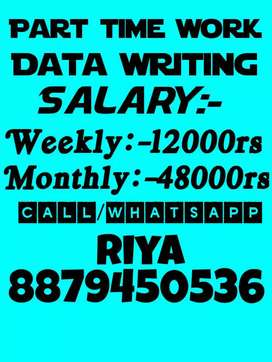 Part time writing jobs