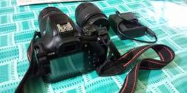 Canon 1300d kit lens and zooming lens