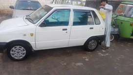 Mehran 2004 model white colour