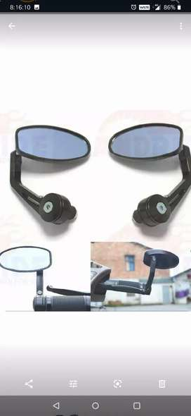 Handle mirrors for all type bikes