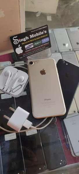 iPhone 7, 32&128GB starting Price 13500 at Singh Mobiles