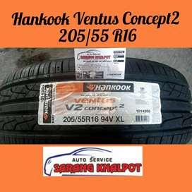 JUAL BAN 205/55R16 HANKOOK VENTUS CONCEPT mobil Civic BMW Mercy Altis
