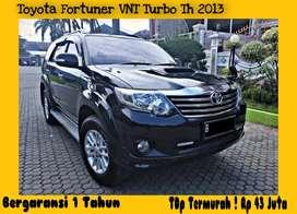Garansi 1Th Toyota Fortuner VNT Turbo Th2013 Mdl Seprti 2014 Istimewa!