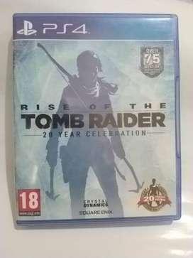 CD PS4 TOMB RAIDER BEKAS SECOND GAMES SERU & KEREN
