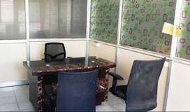 office space for rental Md cabin & with 11 seater cabin fully furnishe