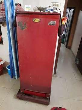 A LG company fridge