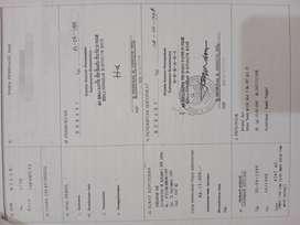 Jual Cpt tanah SHM di Jl.Cikunir Raya