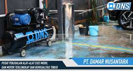 Kompresor udara  2 PK Merek DNS untuk usaha cuci mobil hidrolik dll