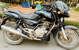 Bajaj Pulsar 150 DTSI with all company fitted accessories