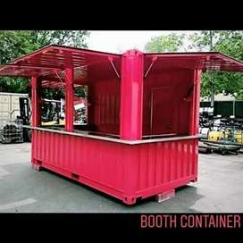kreditan container booth cocok untuk segala usaha,cuma byr DP aja