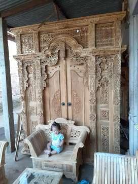 mulyono pintu gebyok gapuro jendela untuk rumah gedung masjid musholla