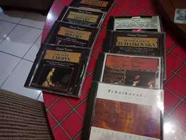 CD orisinal, Chopin, Mozart, Pavarotti,  dll