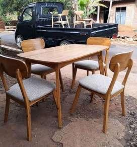 Set kursi makan retro MPB 150