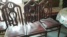 Daining 1 table and chair  6  Rs.12000