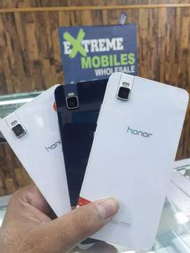 Honor short x brand new 3/32 dual sim plus finger senser